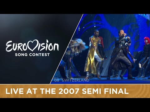 DJ BoBo - Vampires Are Alive (Switzerland) Live 2007 Eurovision Song Contest