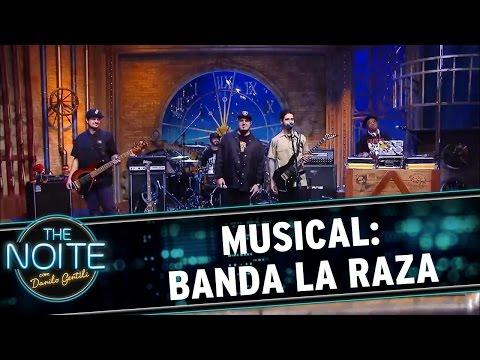 The Noite (25/05/16) Musical com a banda La Raza