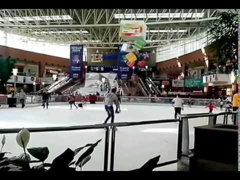 Каток Мега Химки. Ice Rink Mega Khimki.