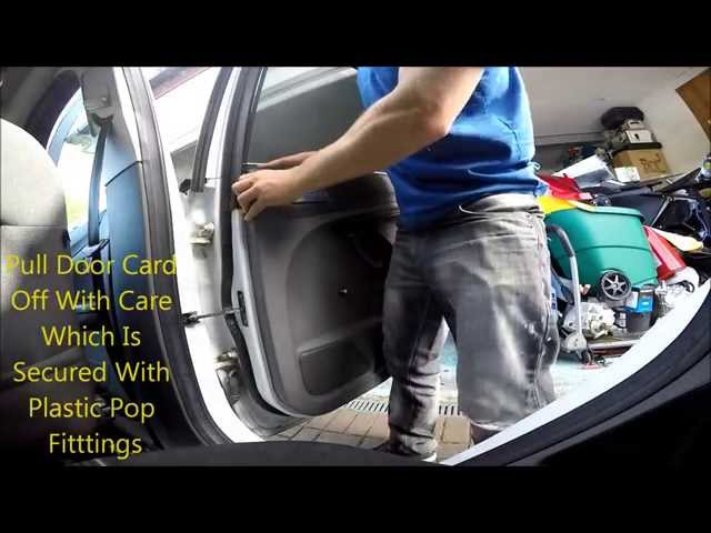 How to Remove Focus 2009 Door Card to Replace Speakers