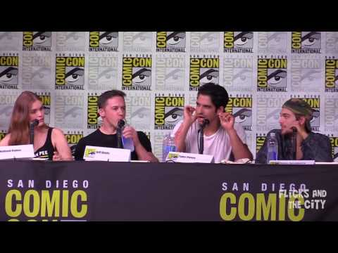 TEEN WOLF Comic Con 2016 Panel - Tyler Posey, Holland Roden, Season 6