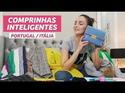 COMPRAS INTELIGENTES da minha viagem para Portugal/Itália I Anita Bem Criada