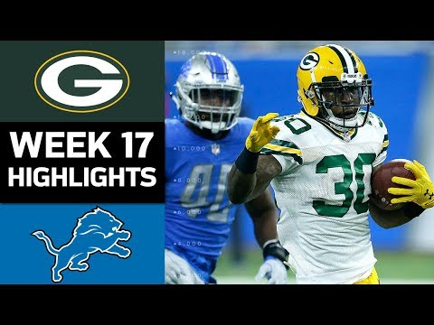Packers vs. Lions | NFL Week 17 Game Highlights
