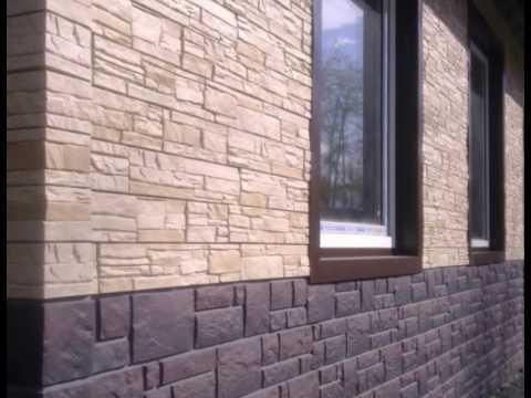 Фасадные панели под камень, кирпич. ОКНА-КРОВЛЯ.РФ 8-47396-37455