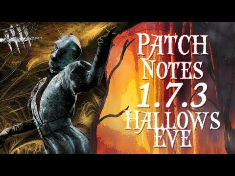 Patch Notes 1.7.3 Hallows Eve! - Dead by Daylight - Killer #192 Nurse