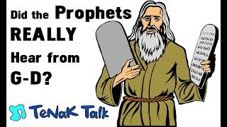 How do we KNOW that the Prophets Heard GOD? Maybe They Made it Up! Rabbi Tovia Singer 532e131