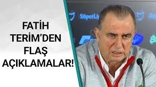 Galatasaray 4 - 1 Kayserispor Fatih Terim Maç Sonu Basın Toplantısı Düzenledi! / A Spor