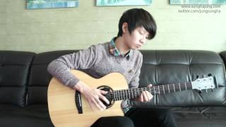"Sungha http://www.sunghajung.com arranged and played ""To Be With Yo..."