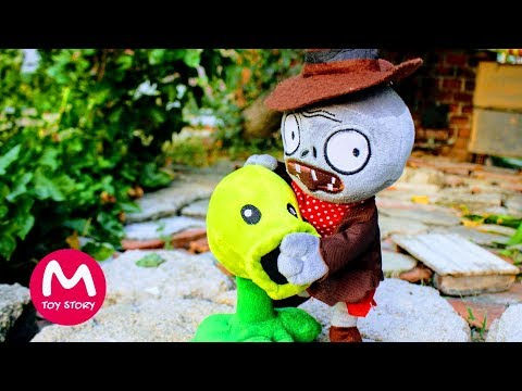 Plants vs Zombies Plush Toys | PeaShooter been cheated | MOO Toy Story