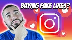 Buying Likes On Instagram! What happens when you buy FAKE LIKES?