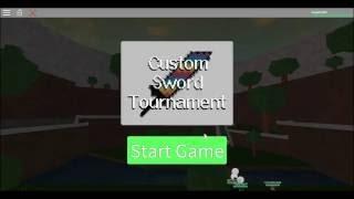 "Roblox ""Custom Sword Fighting Tournament"""