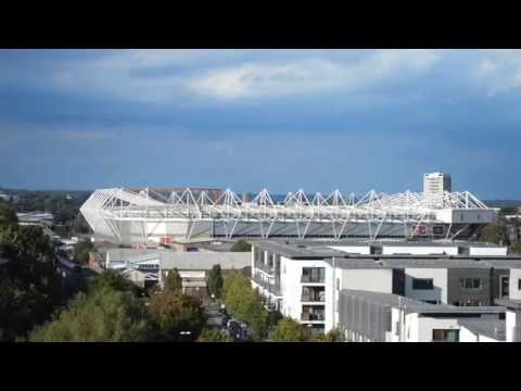Time Lapse of St Mary's Stadium