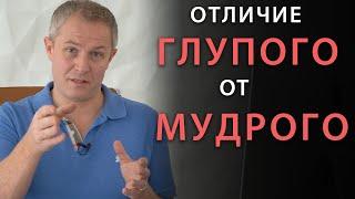 В чем отличие мудрого от глупого? Александр Шевченко