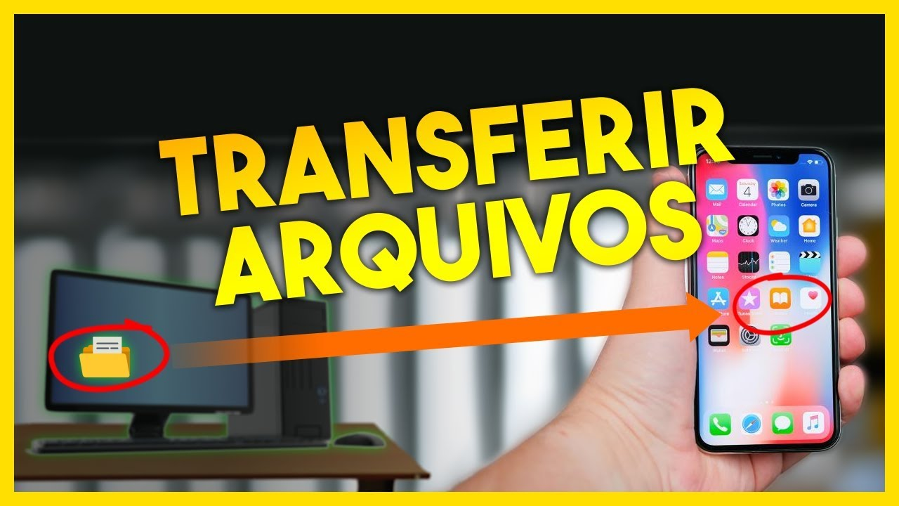 Como transferir arquivos do iPhone para o PC com Windows via WiFi (e  vice-versa)