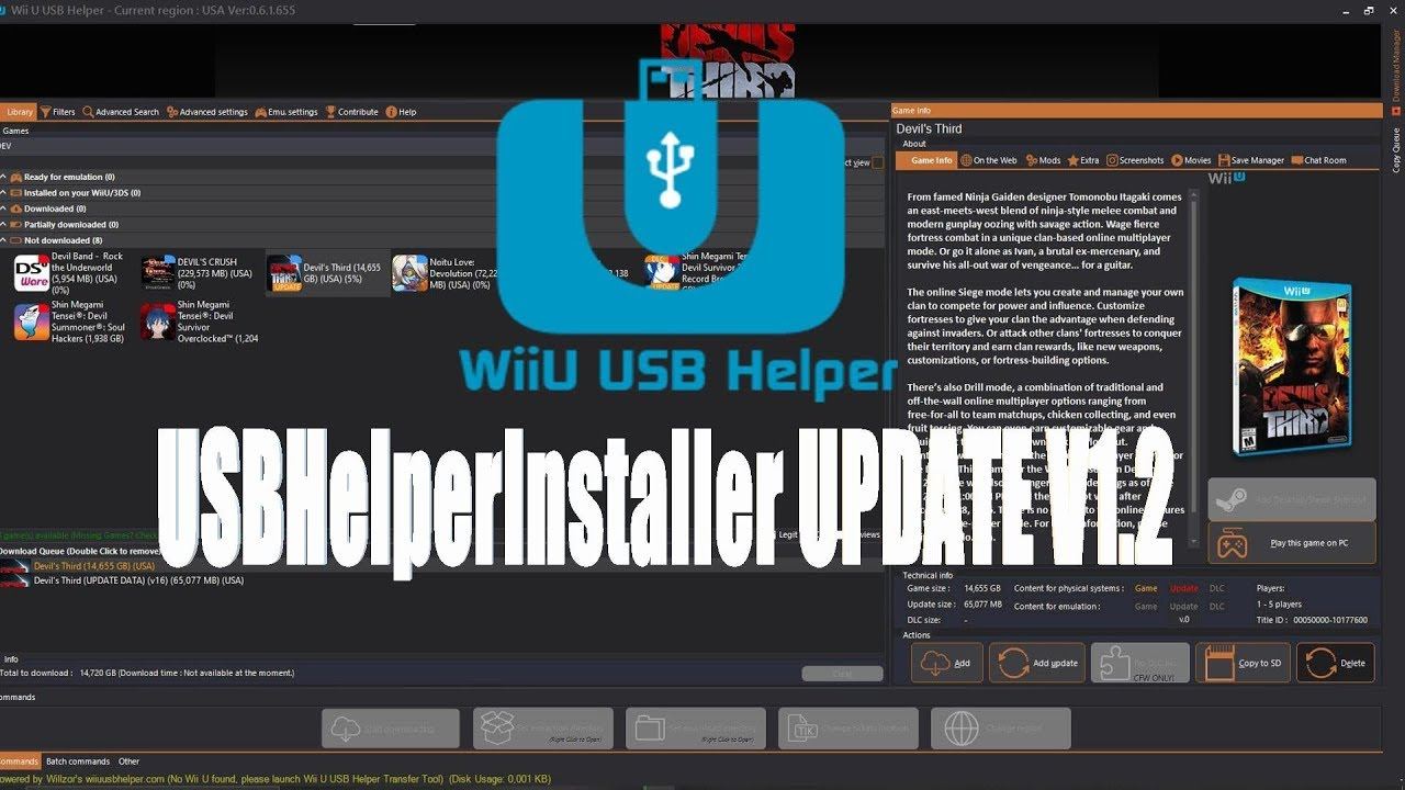 Wup Installer Gx2 No Usb Storage Attached