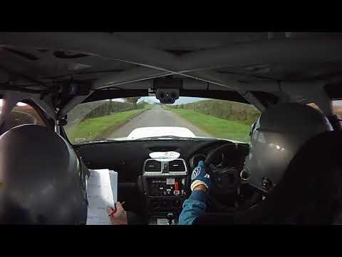 2017 GSMC Mini Stages Rally Richie Dalton & Ger Brett