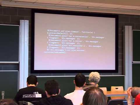 [FOSDEM 2014] Convos, a modern IRC client for your browser
