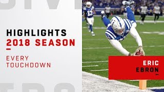 Every Indianapolis Colts tight end Eric Ebron TD | 2018 season