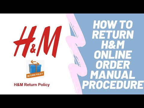 h and m return policy