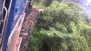 Nilgiri Mountain Railway - Ooty Train - Steaming on over old bridges