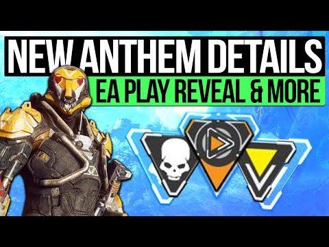 Anthem News | PLANET DETAILS & THE HUB! 2018 Gameplay, Weapon Mechanics & Monster Hunter Influence!