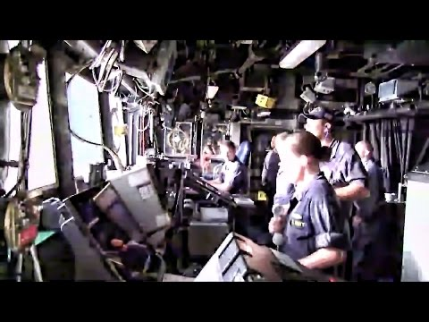 U.S. Warship Launches Tomahawk Cruise Missiles