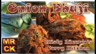How to make Onion Bhaji (Indian Restaurant Style)