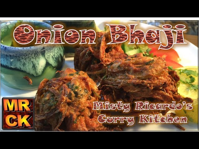 How to make Onion Bhaji (Indian Restaurant Style)