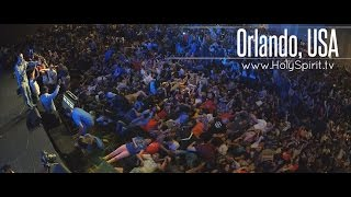 Holy Spirit Outpouring upon Youth in Orlando, Florida! thumbnail