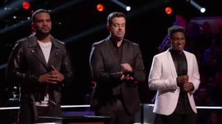 The Voice 2016 Battle - Bryan Bautista vs. Malik Heard- -It's a Man's, Man's, Man's World