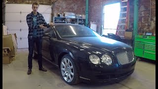 I'm Giving Up on My Bentley Continental GT Project