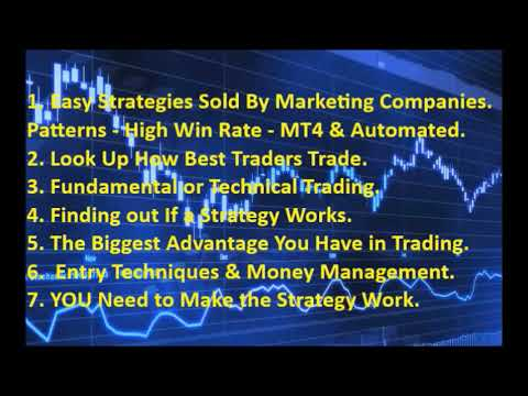 Most consistent forex trading strategy