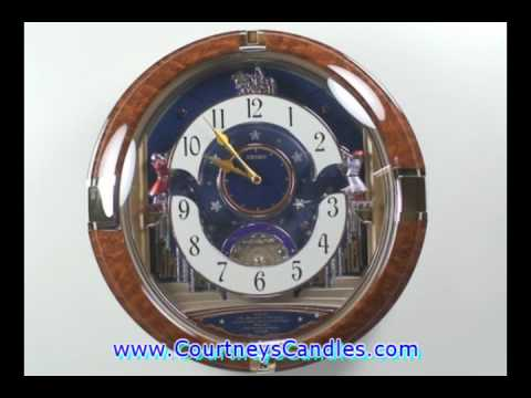 Seiko Qxm123brh Melodies In Motion Musical Clock Funnycat Tv