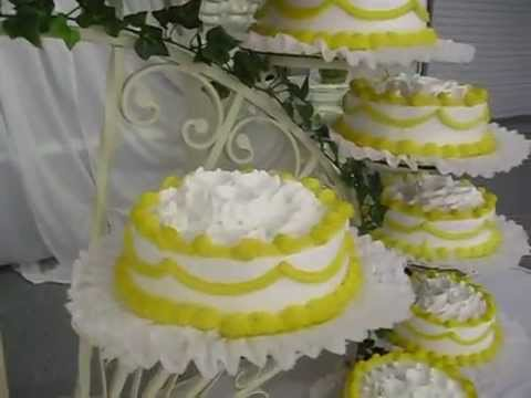 Pastel para boda youtube for Como decorar un bizcocho