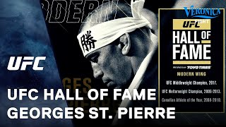 UFC Hall of Fame: Georges St. Pierre thumbnail