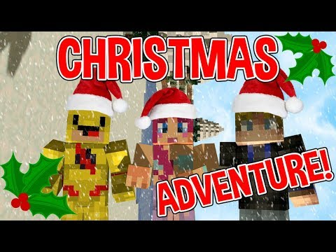 MINECRAFT CHRISTMAS ADVENTure! | A Very Amy Surprise!