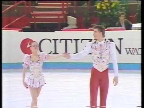 Ekaterina Gordeeva & Sergei Grinkov - 1989 Worlds SP (UKTV)