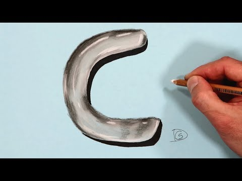 how-to-draw-a-letter-c-in-water-with-dry-pastel-pencils