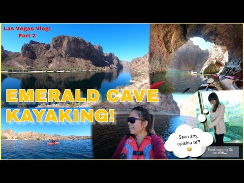 2019 LAS VEGAS VLOG: EMERALD CAVE KAYAKING ON THE COLORADO RIVER || PART 2 | JeanVLOG