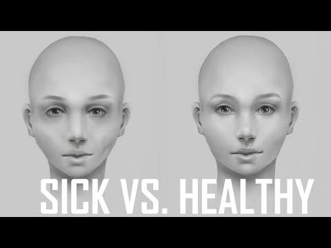 Critique hour healthy face vs sick face how to paint a villains healthy face vs sick face how to paint a villains face youtube thecheapjerseys Image collections