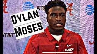 Alabama Crimson Tide Football: Linebacker Dylan Moses speaks to media
