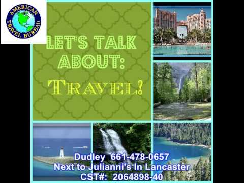 Lets Talk About Travel By Dudley Jennings Agent for American Travel Bureau