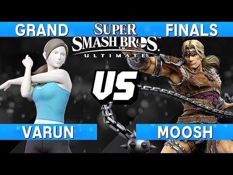Smash Ultimate Tournament Grand Finals - Varun (Wii Fit Trainer) vs Moosh (Simon) - S@LT 167 thumbnail