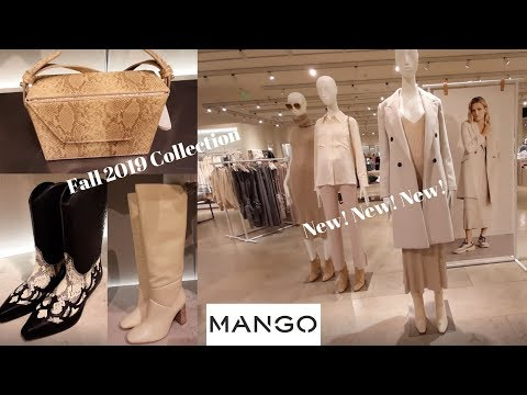 Mango Fall 2019 Women's Fashion/ September 2019/New Women's Collection