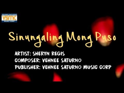 Sheryn Regis - Sinungaling Mong Puso (Lyric Video)