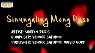 Gambar cover Sheryn Regis - Sinungaling Mong Puso (Lyric Video)