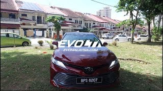 2019 Toyota Camry Detailed Walkaround Review | Evomalaysia.com