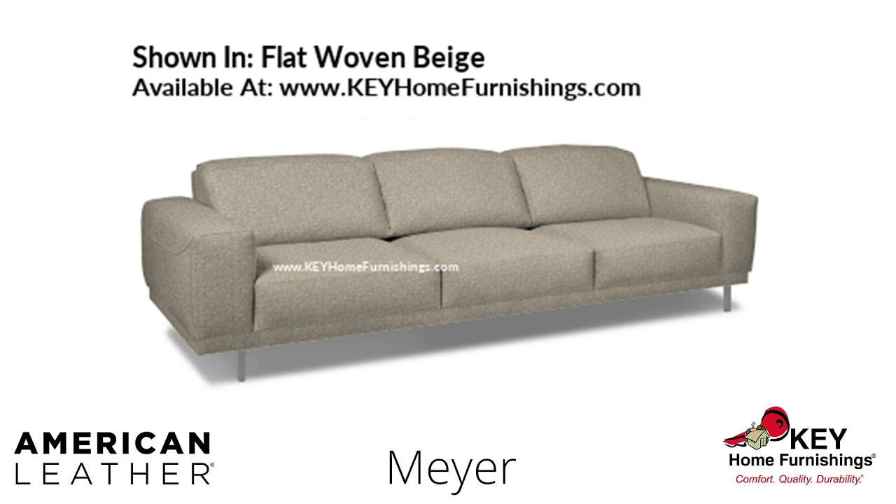 The Meyer Sofa American Leather Cover