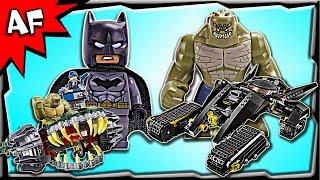 Lego Batman KILLER CROC Sewer Smash 76055 Stop Motion Build Review