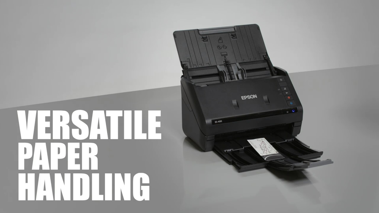 Epson WorkForce ES-400 | Take the Tour